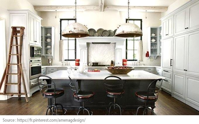 La cuisine blanche : moderne et chic - 1