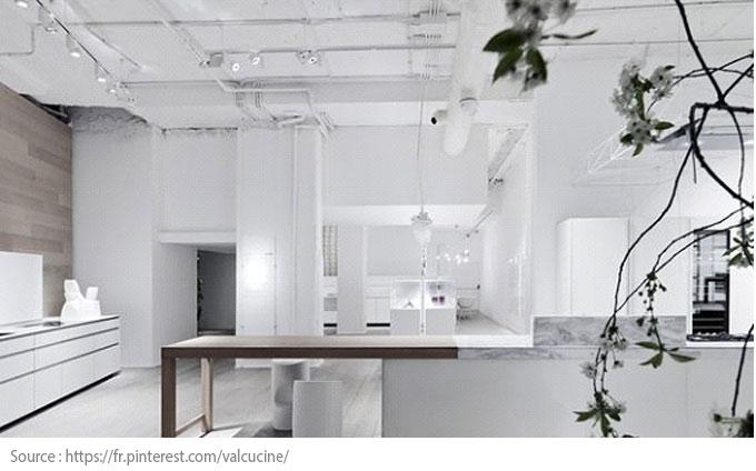 La cuisine blanche : moderne et chic - 6