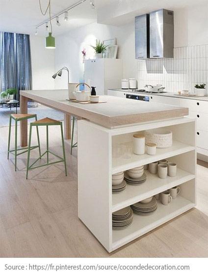 La cuisine blanche : moderne et chic - 4