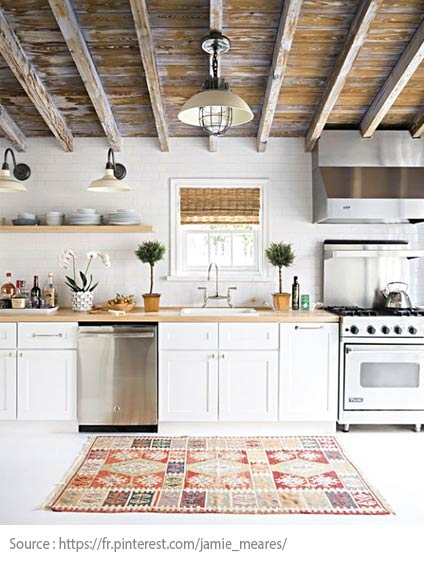 La cuisine blanche : moderne et chic - 8