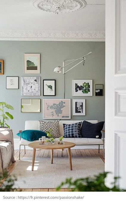 Tips for Indoor Lighting - Light-coloured walls and ceilings