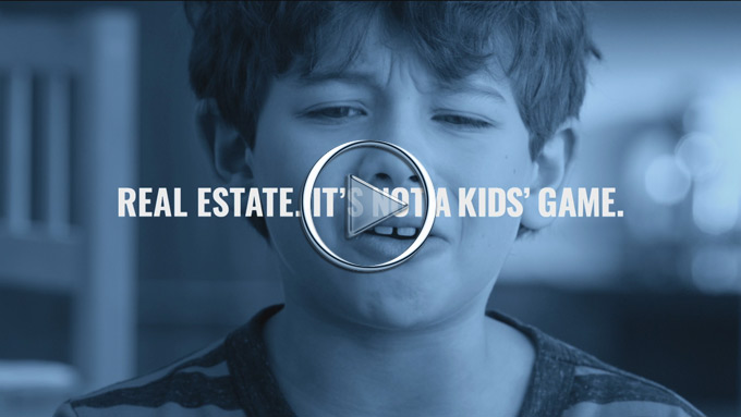 Real estate… It's not a kids' game