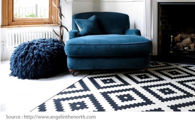 Choisir le bon tapis : osez les motifs