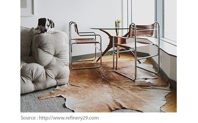 Choisir le bon tapis : ajouter un tapis par-dessus l'autre