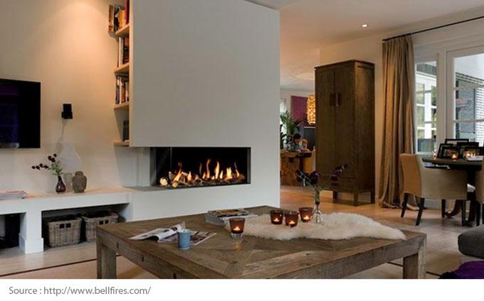 La tendance est au foyer à gaz innovant - Ambiance
