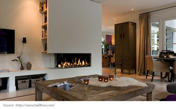 Gas Fireplaces: An Innovative Trend - Ambiance