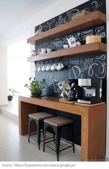 10 Ideas for Creating a Tea and Coffee Nook - 3