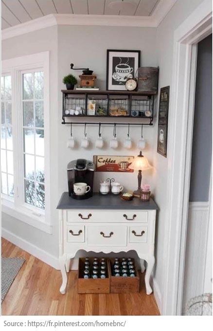 10 idées pour créer un coin thé ou café à la maison - 6
