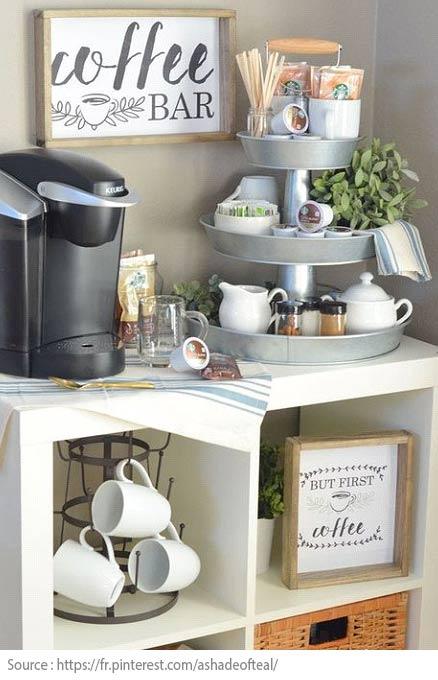 10 idées pour créer un coin thé ou café à la maison - 7