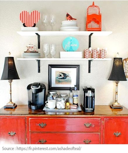 10 Ideas for Creating a Tea and Coffee Nook - 8