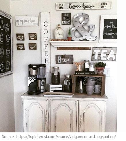10 idées pour créer un coin thé ou café à la maison - 4