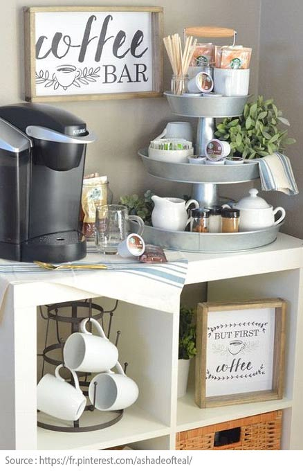 10 Ideas for Creating a Tea and Coffee Nook - 7