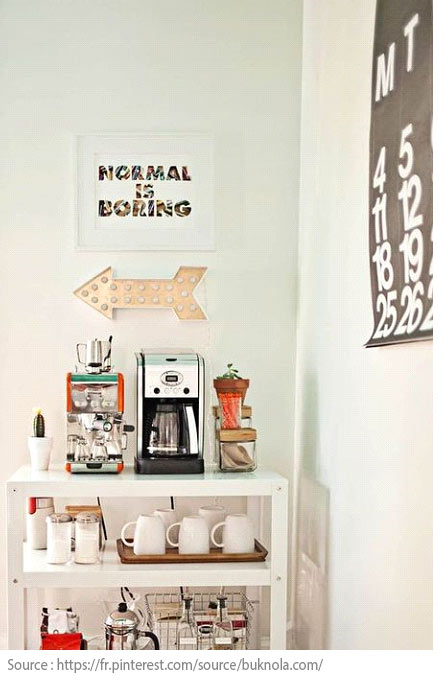 10 Ideas for Creating a Tea and Coffee Nook - 9