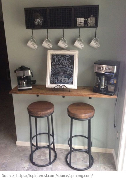 10 Ideas for Creating a Tea and Coffee Nook - 10