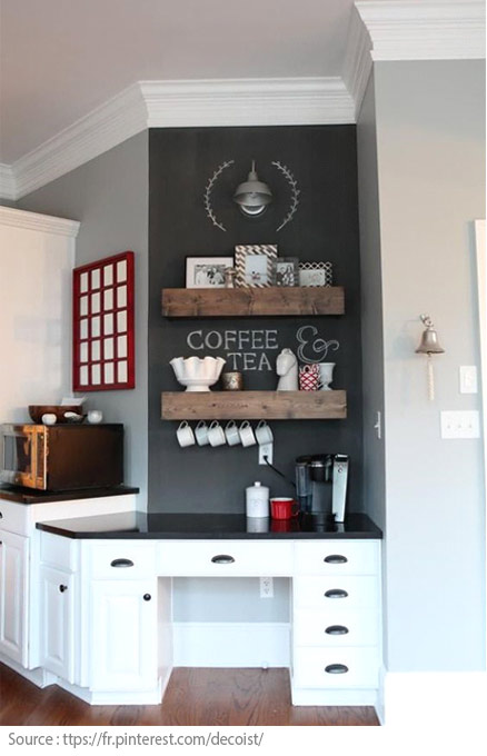 10 Ideas for Creating a Tea and Coffee Nook - 1