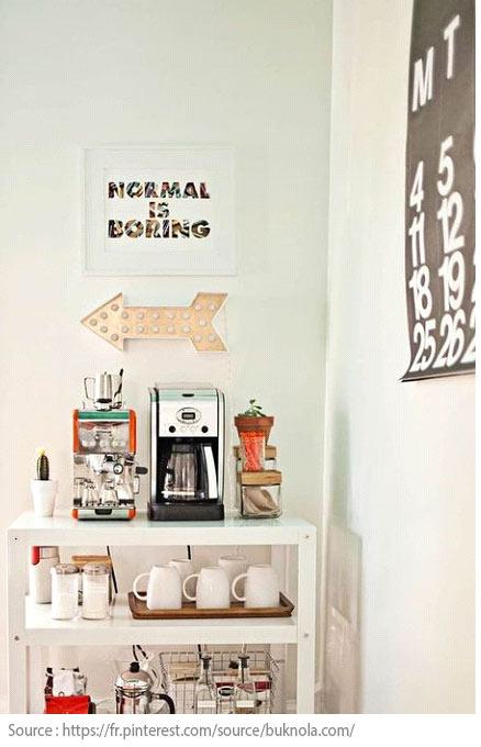 10 idées pour créer un coin thé ou café à la maison - 9