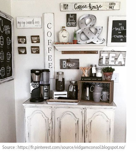 10 Ideas for Creating a Tea and Coffee Nook - 4