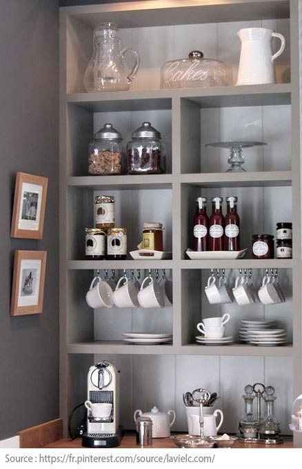 10 Ideas for Creating a Tea and Coffee Nook - 2