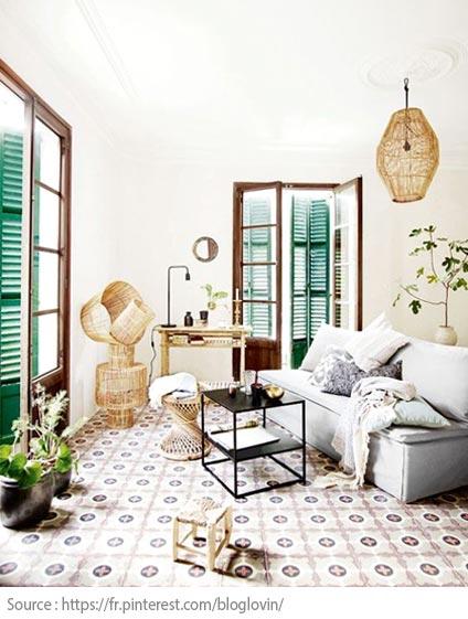 Cement Tiles - Mediterranean style