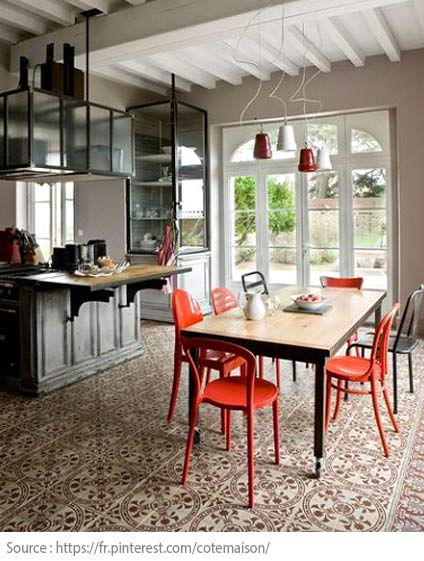 Cement Tiles - Interesting combinations