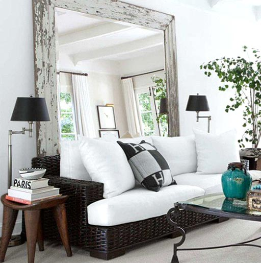 Incorporate decorative mirrors into your home décor