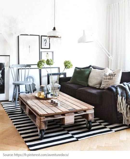 Decorating Trends: 10 Great Items to Discover! - A wooden pallet