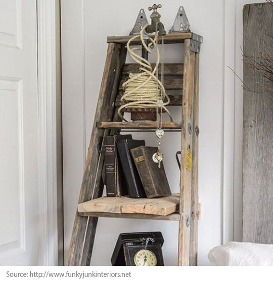 Decorating Trends: 10 Great Items to Discover! - A ladder