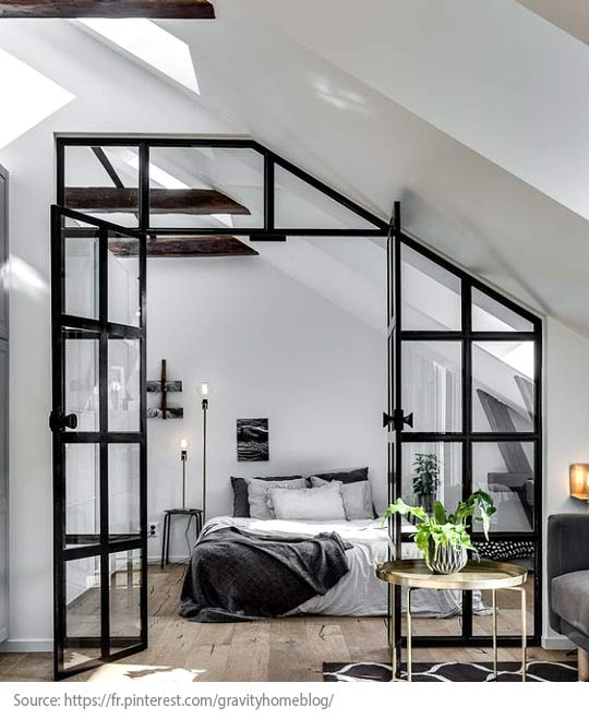Decorating Trends: 10 Great Items to Discover! - Glass doors
