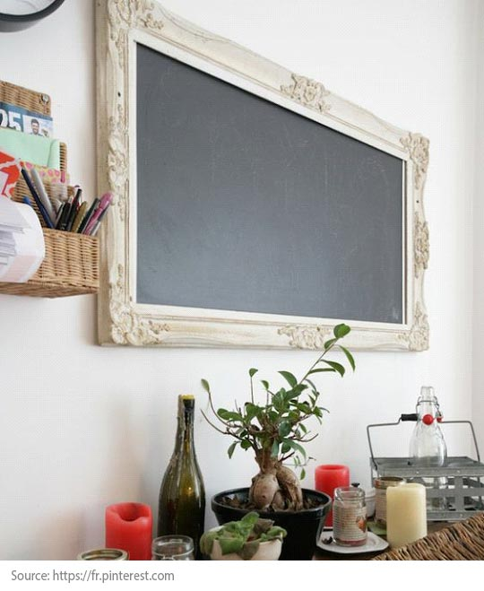 Decorating Trends: 10 Great Items to Discover! - A blackboard