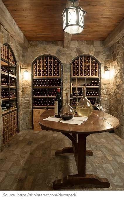 Solutions pour une cave à vin maison - 1