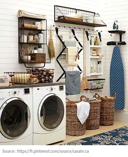 7 conseils pour bien aménager sa salle de lavage - 8