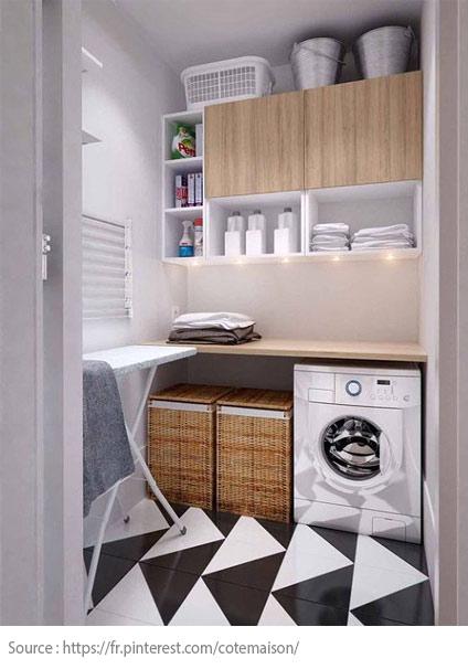 7 conseils pour bien aménager sa salle de lavage - 1