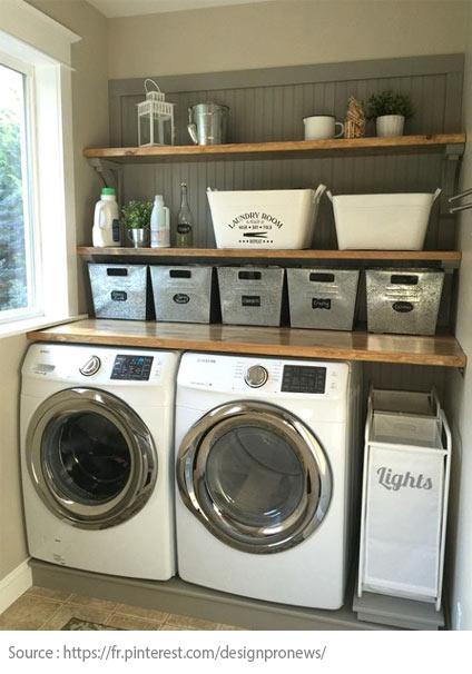 7 conseils pour bien aménager sa salle de lavage - 5