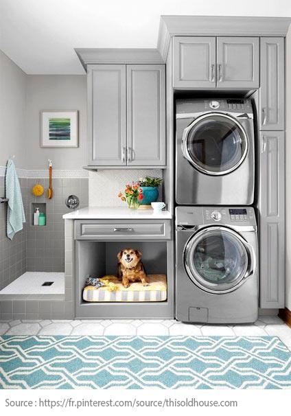 7 conseils pour bien aménager sa salle de lavage - 2