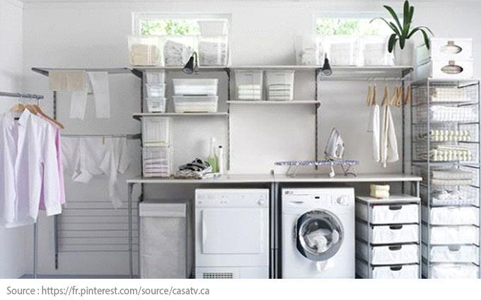 7 conseils pour bien aménager sa salle de lavage