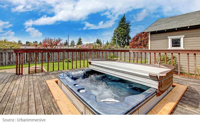 Hot Tub - The ideal location