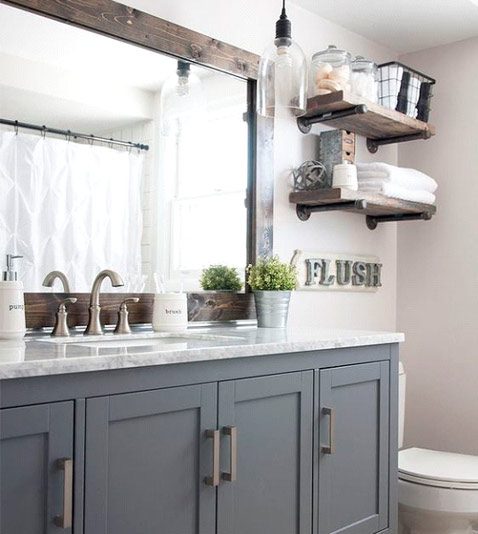 Bathroom - Adapt your storage