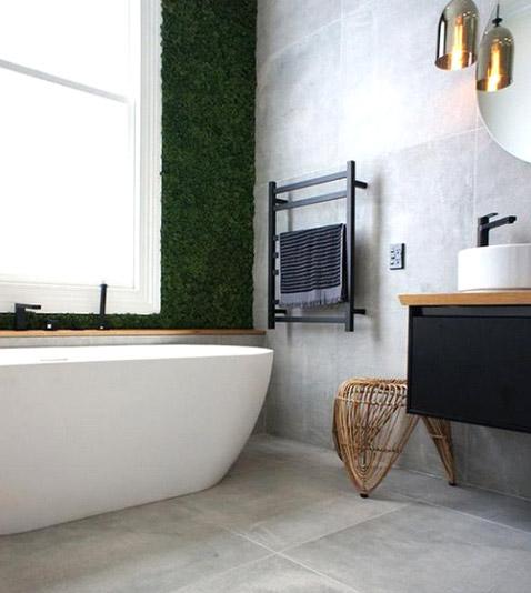 Salle de bain - Misez sur un sèche-serviettes