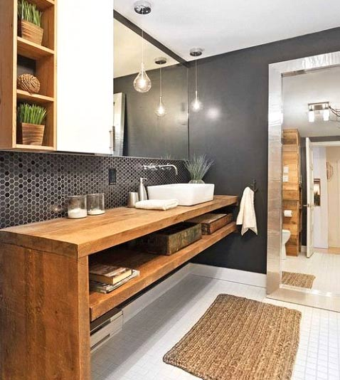 Bathroom - Consider the amount of space you have