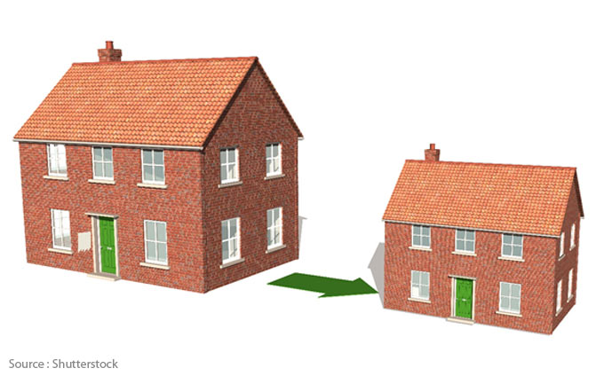 La maison est-elle devenue trop grande?