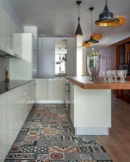 Expressive flooring